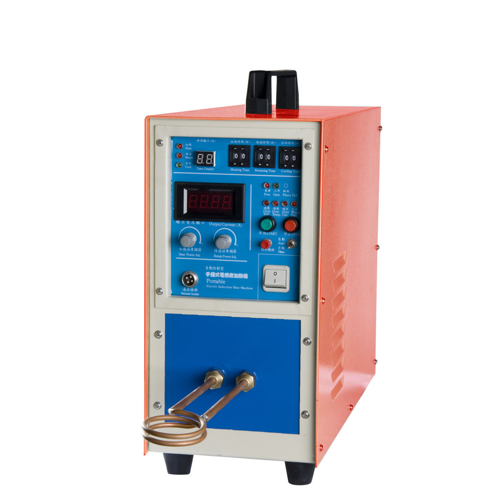 15Kw High Frequency Induction Heating Machine for Brazing Metal Heating Solding Silver Welding high frequency heating machine dedicated resonant capacitor 0 12uf 120nf 3000vac 100khz 80a in stock