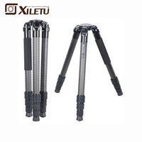 XILETU L404C Luxury Carbon Fiber Tripod Bird Watching Without Mid Axle 40mm Large Tube for Digital Camera Video Camcorder F21236