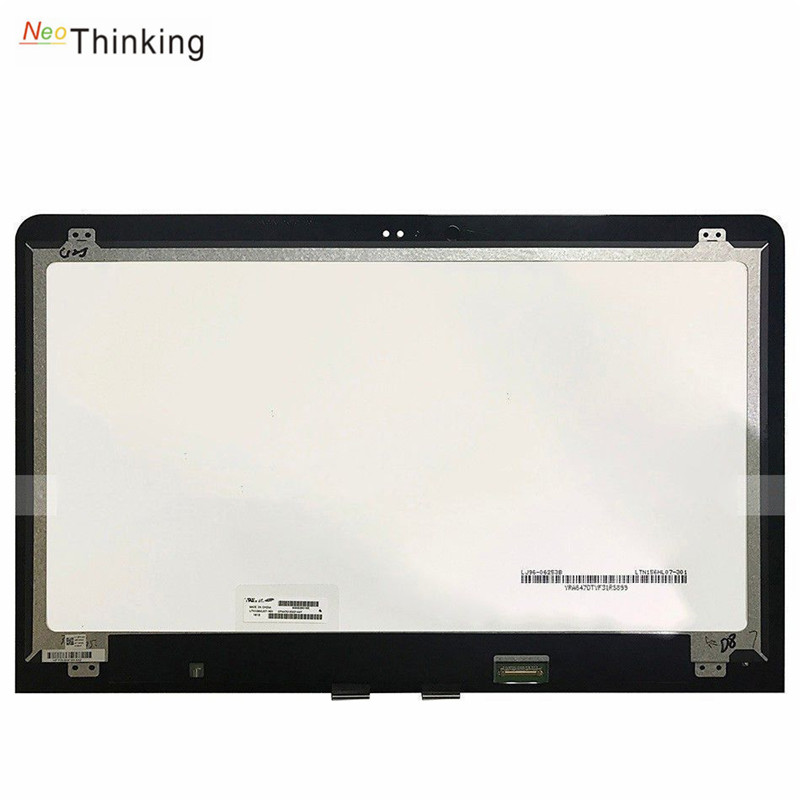 NeoThinking 15.6 Lcd Assembly For HP ENVY X360 M6-AR Lcd Digitizer Touch Screen Replacement free shipping 15 6 lcd display matrix touch screen digitizer assembly with bezel for hp envy x360 m6 w102dx m6 w101dx m6 w104dx m6 w015dx
