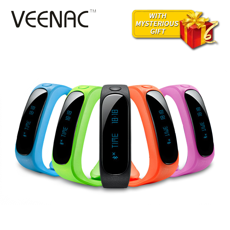 Sport Waterproof E02 Smart Bracelet Health Fitness Tracker Wristband Connecte fo