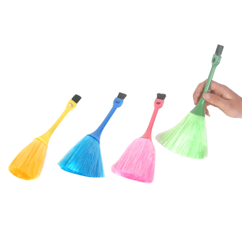 Home Computer Keyboard Car Dashboard Duster Broom Cleaning Brush