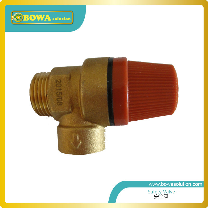 Water relief  valve  with Female NPT connection (DN15 Inlet and DN15 oulet) and 5bar setting  3121515050/SV312151550 dn15 dn20 boiler solar energy water heater relief valve water inlet valve