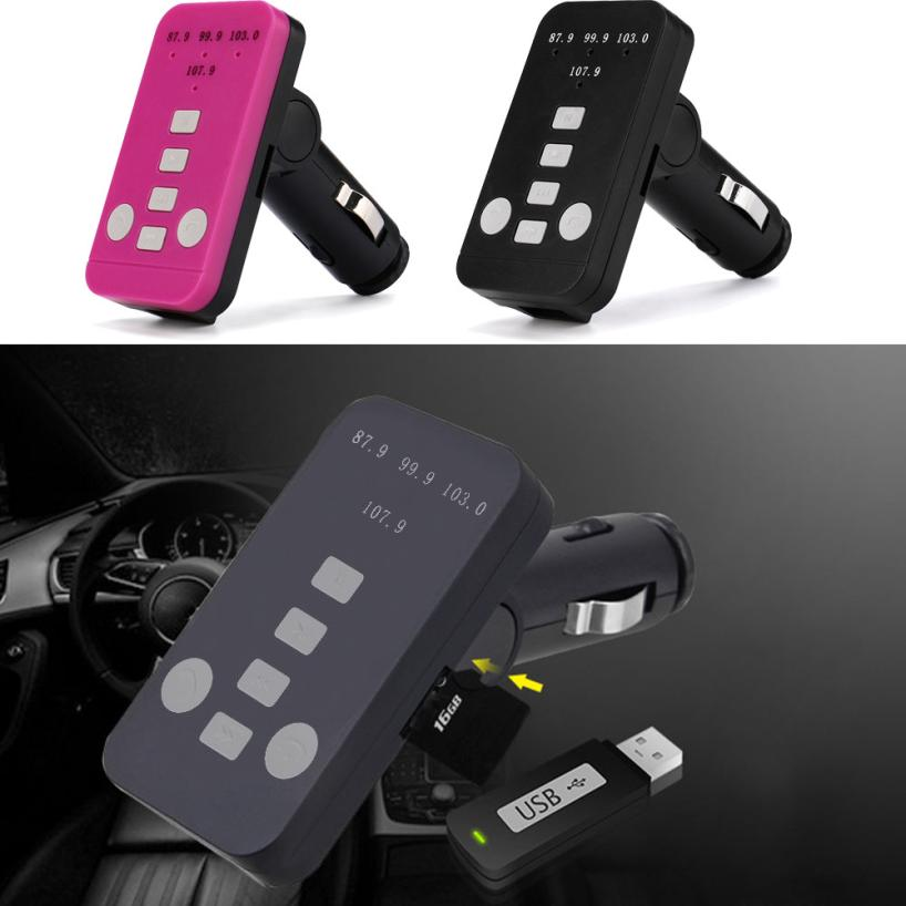 2018 Hot selling Fashion Car Charger 0.5W Bluetooth Handsfree Car Speaker Kit for Smart Mobile Phone for iphone 7 for Samsung S7