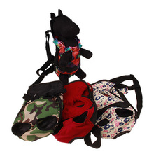 Front Chest Backpack Pet Carrier Dog Five Holes Outdoor Tote Bag Sling Holder Mesh Cat Puppy
