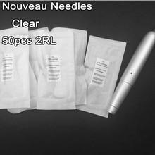 Clear 600D-G 2RL Eyebrow Lips Nouveau Needles Permanent Makeup Needle For Rotary Machine Pen Kits Tattoo Needles