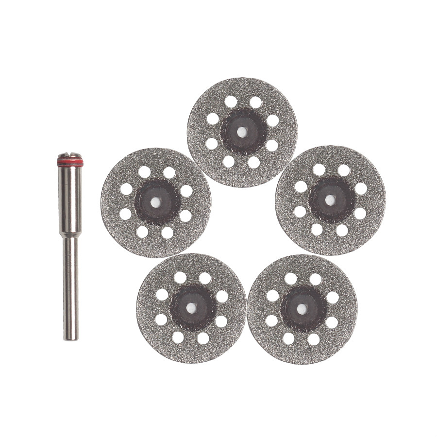 Emery Cutting Disc Cut Off For Electric Mini Grinder/Micro Drill Electric Die Grinder Cutting Tool 5pcs Accessories