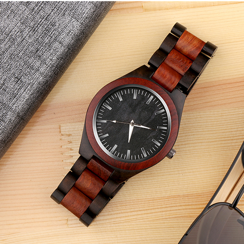 Top Fashion Wood Watches Wooden Watch Men Watch Luxury Wood Men's Watch Wooden Clock reloj madera montre homme relogio masculino fashion elk dial hand made men s wood watch light cool wooden wristwatches with brown genuine leather band reloj de madera