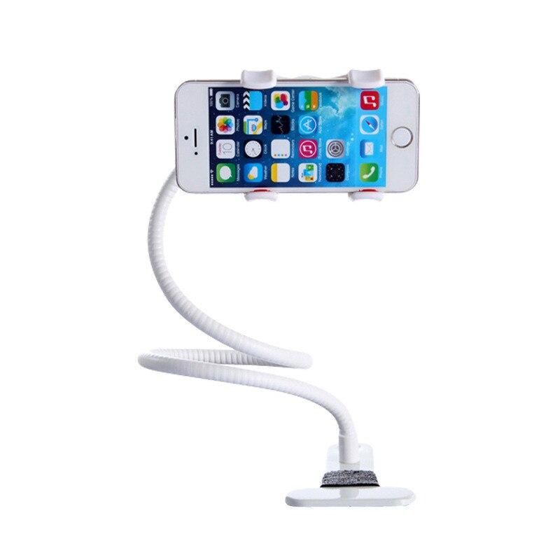 Kongrey держатель телефона Универсальный длинная рука ленивый мобильного телефона Gooseneck стенд держатель гибкие кровати стол клип кронштейн дл...
