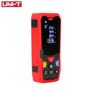 UNI-T dalmierz laserowy 40M 50M 60M LM seria cyfrowy dalmierz laserowy Trena taśma miara elektroniczna linijka tanie i dobre opinie +-2mm Zasilany baterią LM40 LM50 LM60 52mm*122mm*29 5mm