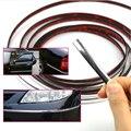 Car styling chrome Moulding guarnição faixa Cromada 6 8 10 12 15 20 22 25 30mm * 1 M fita decorativa moldagem carro cromo adesivos para carro