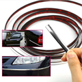 Car styling cromo Chrome Moulding tira de ajuste 6 8 10 12 15 20 22 25 30mm * 1 M cinta decorativa moulding car chrome pegatinas para el coche