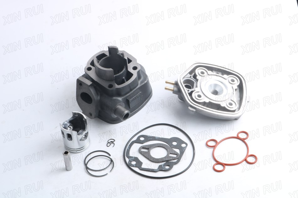 40mm 491 Gt 491 Sport K2 LC 50cc cylinder block assembly + E6T spark plug + cylinder head cover Liquid Cooled