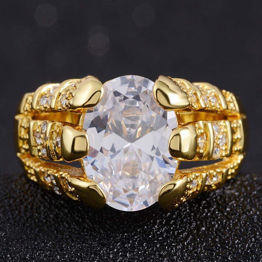 2017 new IP gold plated Men Jewelry luxury AAA zirconia Men \'s ...