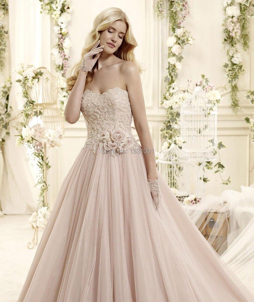 Wedding Blush Pink Wedding Dress popular blush pink wedding dress buy cheap vestido para casamento 2016 dresses sexy bridal bride gowns a line weddin