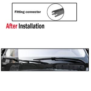 """Image 4 - Ericks Wiper LHD Front Wiper Blades For Lexus NX 200 NX200 NX200t NX300h 2015   2019 Windshield Windscreen Front Window 26""""+16"""""""