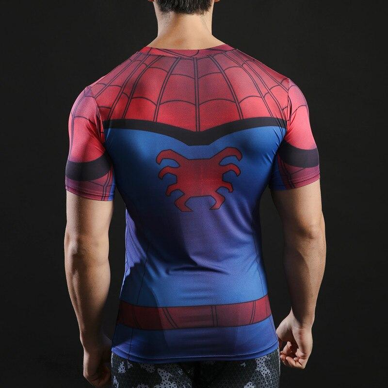 Zootop Bear Pánské elastické tričko Spider Man červené  c44fa135e0