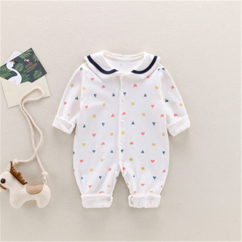 YOOAP Spring and Autumn Full Moon Baby Cotton Clothes In Autumn and Winter Baby Clothes Boutique Baby Boy Christmas Clothes in Rompers from Mother Kids