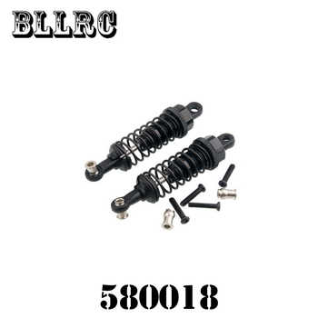 4pcs RC car 1:18 580018 WLtoys A959 Upgrade Parts Aluminum Shock Absorber For A969 A979 K929 Replacement A949-55 Remote Control