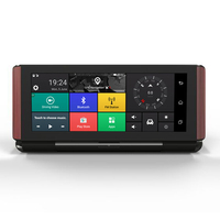 7 Inch Car GPS Navigation Capacitive Screen Bluetooth AV In FM Built In 16GB Free Map