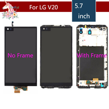 5.7'' 2560x1440 IPS LCD For LG V20 LCD Display Touch screen VS995 VS996 LS997 H910 H915 H990 F800 Digitizer Replacement цена и фото