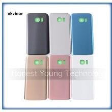 Ekvinor 20 шт новая задняя панель стеклянная крышка батарейного