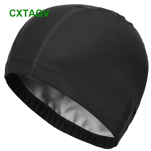 Details about  /Valuable Adult Polyester Swim Cap FlexibleDurable Elasticity Swimming Hat jbBAC