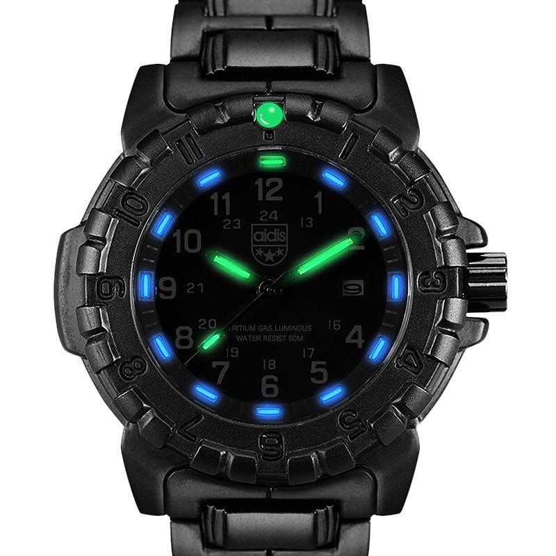 Herrenuhren Sanda Uhr Männer Luxus Marke Männer Wasserdichte Quarzuhr Fashion Outdoor Sport Uhr Militär Uhr Relogio Masculino Hell In Farbe Uhren