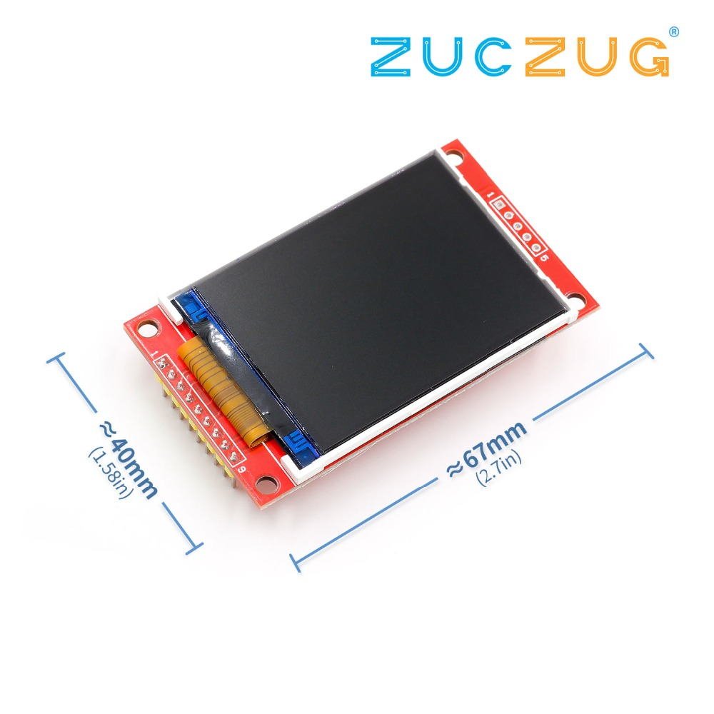22-inch-240-320-dots-spi-tft-lcd-serial-port-module-display-ili9341-5v-33v-22''-240x320-for-font-b-arduino-b-font-diy