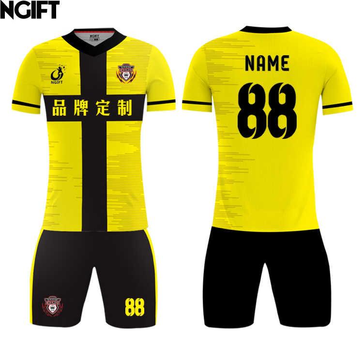 f7de550eb Ngift 2018 latest design custom soccer jersey sublimation football jersey  football team uniform OEM logos