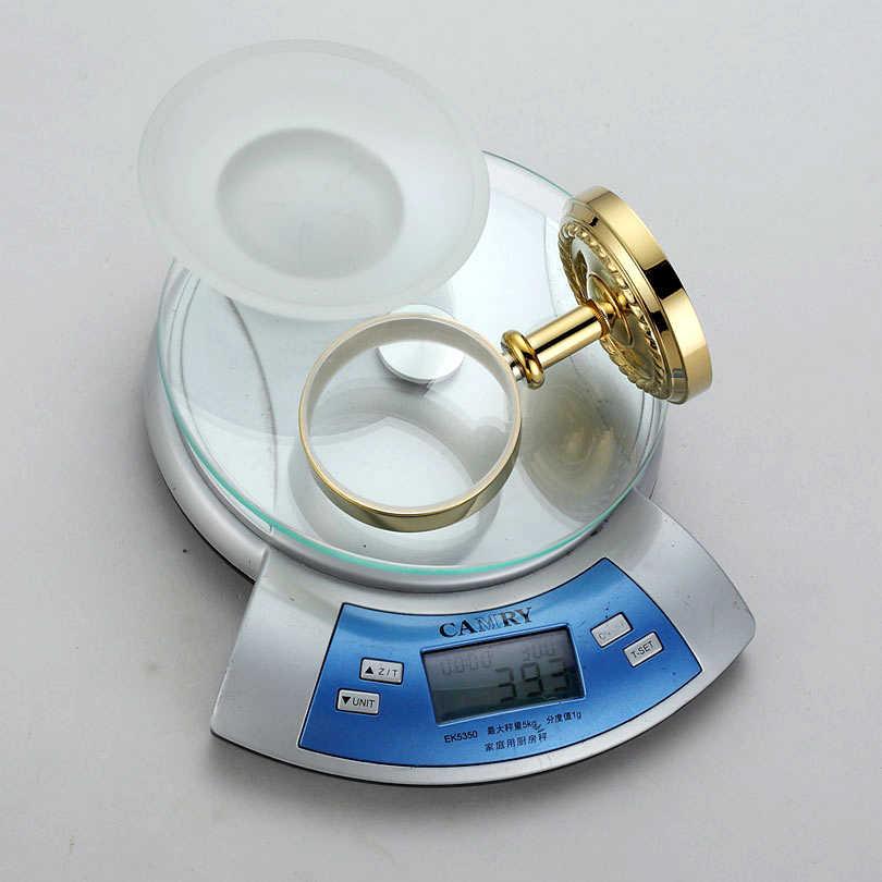 Złoty mosiądz mydelniczki dysku helder akcesoria łazienkowe wyroby sanitarne 7005G