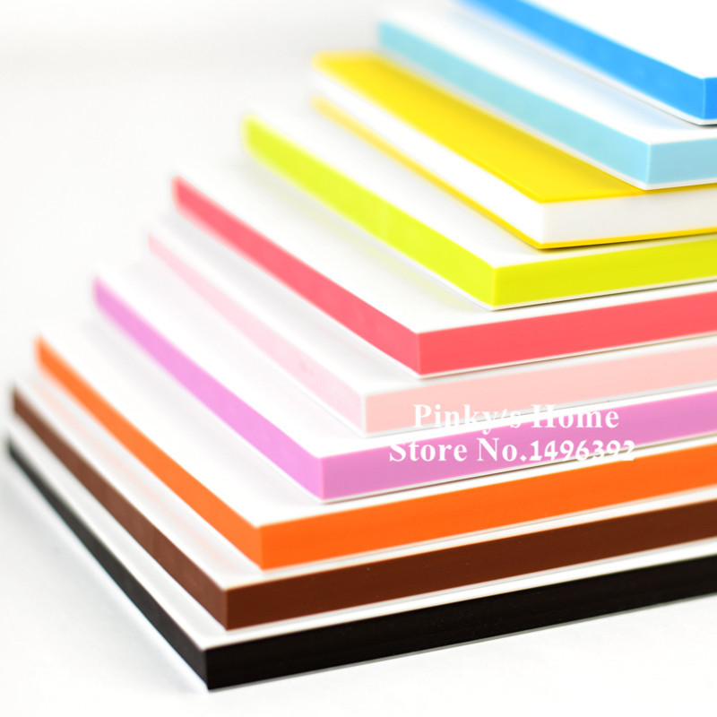 1PC DIY Professional Engraving Rubber Brick Sandwich Candy Color Rubber For Scrapbooking