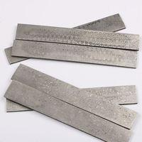Damascus Billet Damascus Steel Blanks HRC58 Knife Blanks Fireball Patterns 200mm X 30mm X 3mm