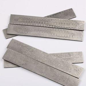 Image 1 - Thật Damascus Đồng Phôi Thép Tẩy Trống HRC58 Dao Thép Tự Làm Tẩy Trống Dao Làm Chất Liệu Thép Không Gỉ
