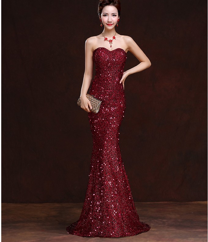 Silk evening dresses china