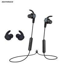 KEITHNICO 3 זוגות סיליקון אוזן ניצני טיפים Eartips אוזניות וו עבור Huawei Honor xSport Bluetooth אוזניות AM61
