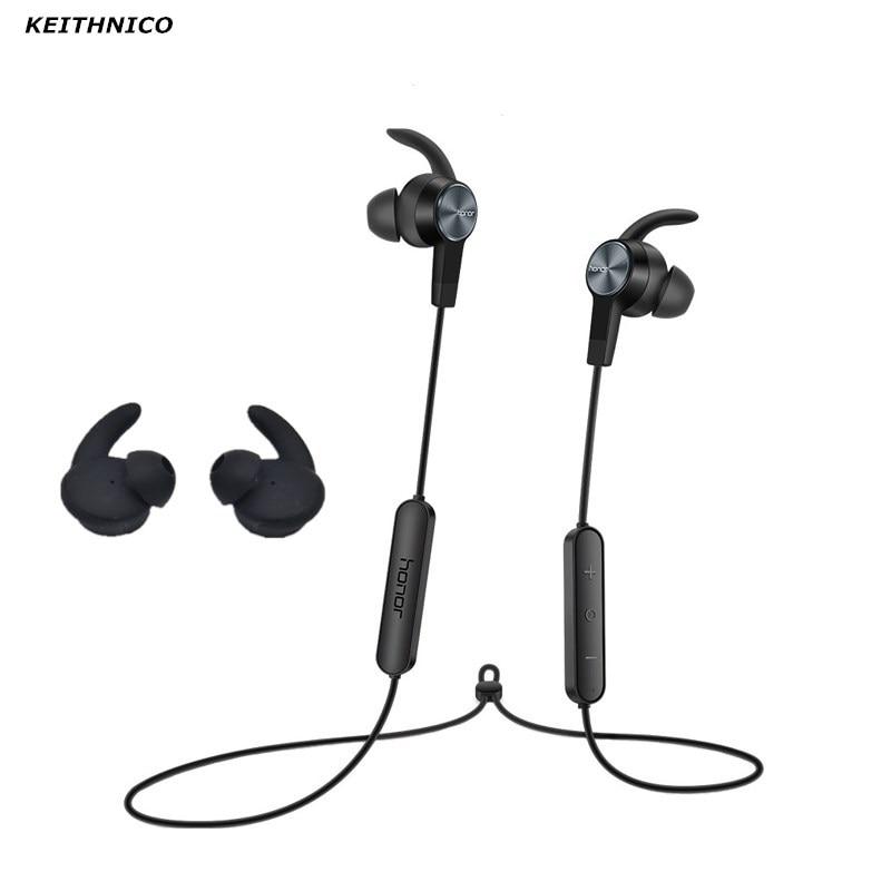 KEITHNICO-auriculares de silicona con puntas de orejeras, gancho para Huawei Honor xSport, con Bluetooth, AM61, 3 pares