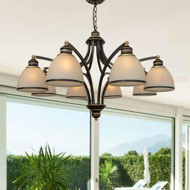 lamps Pendant Lights dining room bedroom lamp iron simple modern retro American Pastoral ZX42 lamps pendant lights dining room bedroom lamp iron simple modern retro american pastoral lighting