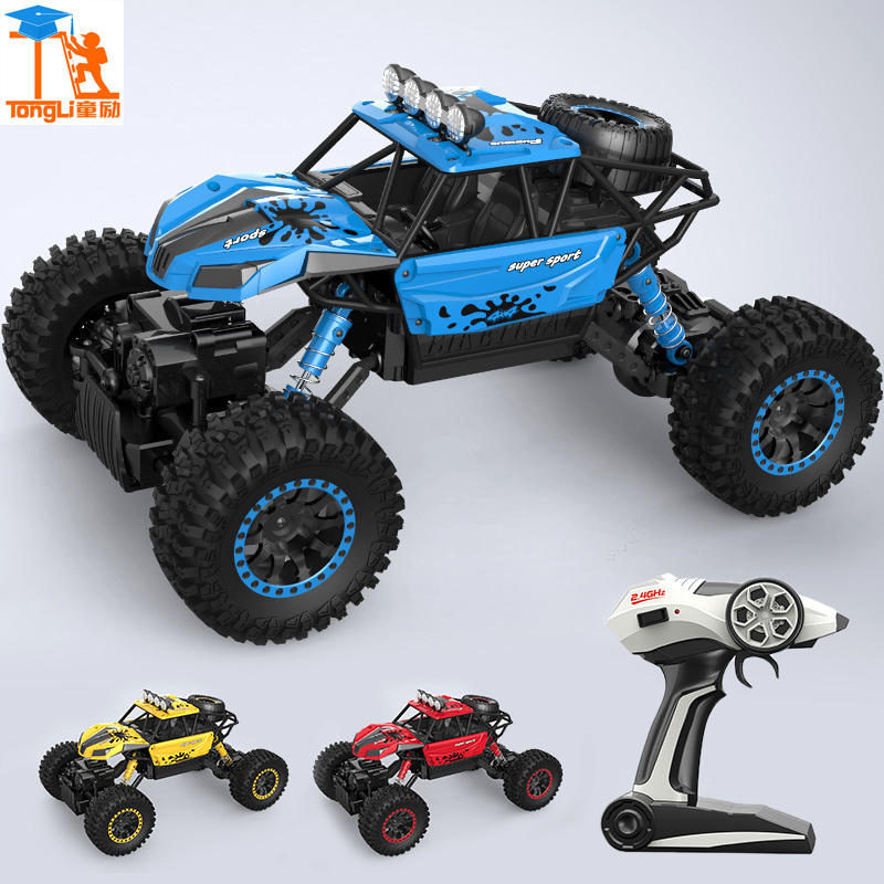 Big RC Cars 2.4G Rock Crawler 4WD Trucks Toys 1:12 Off-Road Vehicle Buggy Electronic Model Car Toys For Children Christmas gift 1 18 scale red jeep wrangler willys alloy diecast model car off road vehicle model toys for children gifts collections