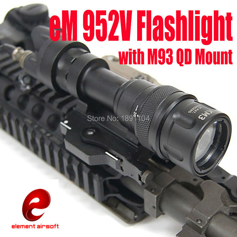 Element Tactical light M952V LED Flashlight With M93 QD Mount Weapon Lights EX 192