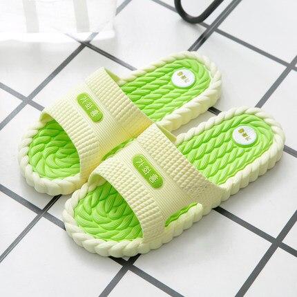 LKNX Hausschuhe Mode Plattform Flip-Flops High Heel Sandalen Sommer Strand Schuhe Bequem Rutschen