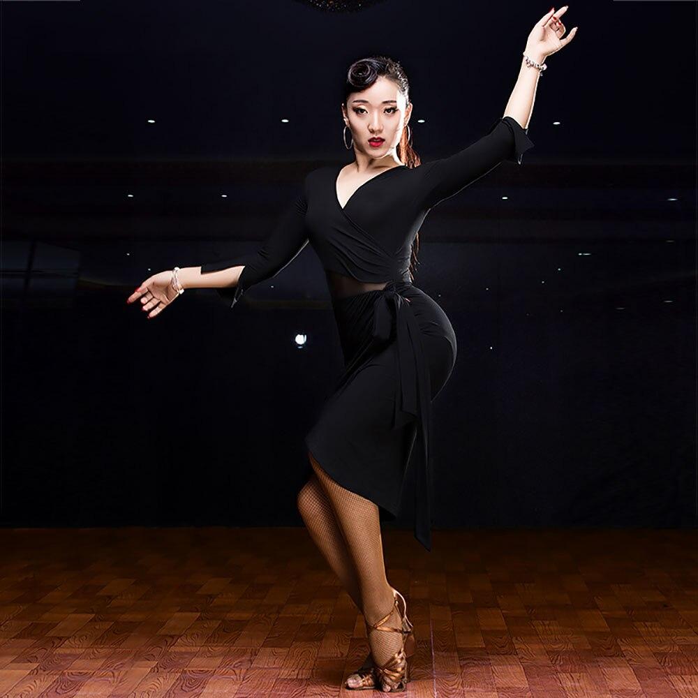 Online Shop 2018 Women\'S Latin Dance Dress Ballroom Dance ...