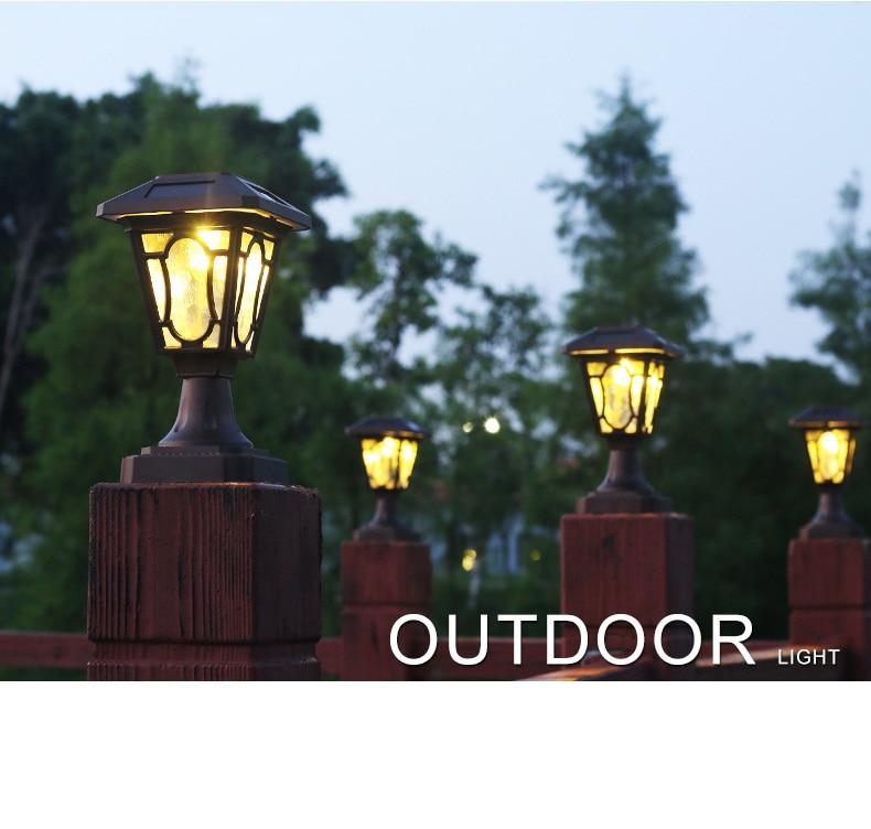 US $63 43  LED Solar Powered Lights Outdoor Corridor Garden Stairs Convert  Waterproof Glass Light Lamp Home Decor Aluminum Solar Light-in Path Lights