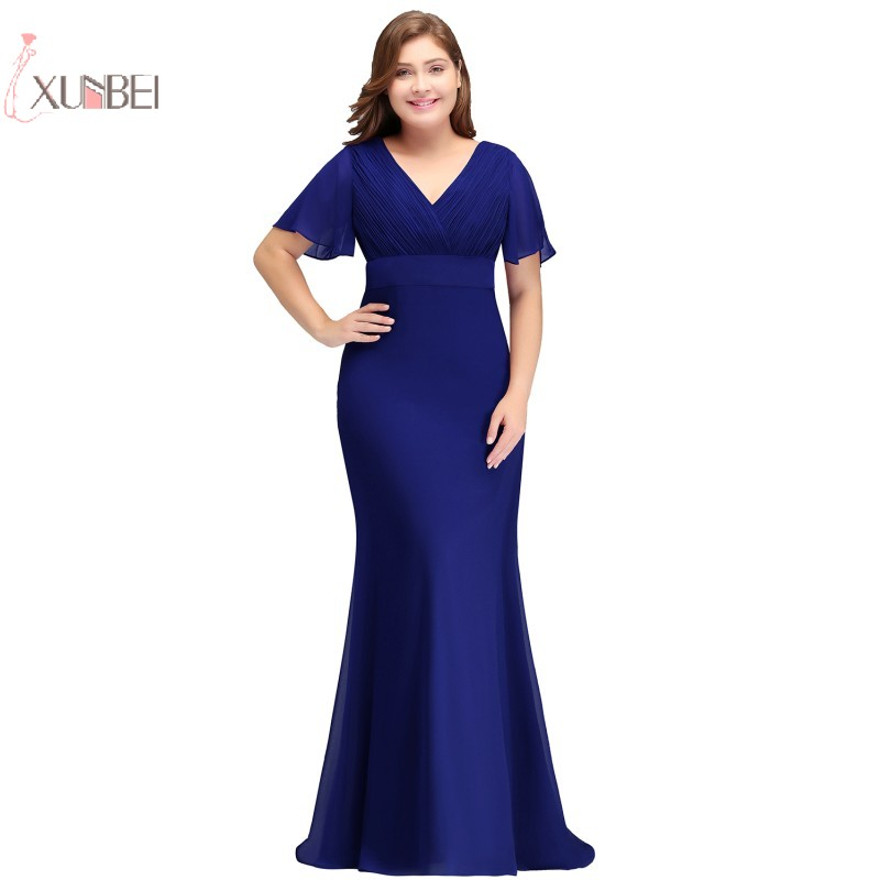 Long Evening Dresses 2019 Plus Size Formal Dress Evening -4244