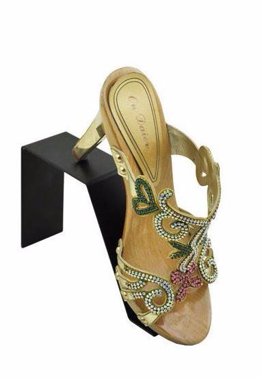 black shoes holder