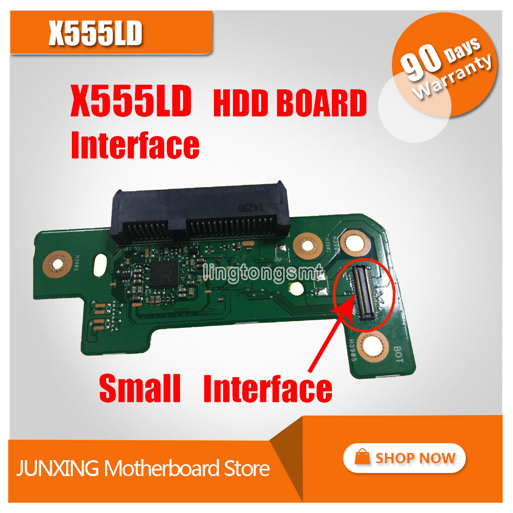Interface on HDD board and on Mainboard For ASUS X555LD K555L A555L X555LJ Y583L Interface on HDD board and on Mainboard x555lp hdd board rev 1 1 x555ld hdd board rev 3 3 3 1 3 6 x555ld io board rev 2 0 3d printer board