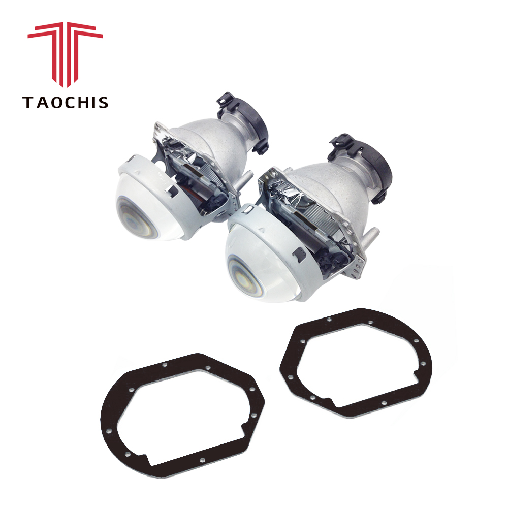 TAOCHIS Car Styling frame adapter Hella 3r G5 Projector lens retrofit for BMW 3 E39 1996