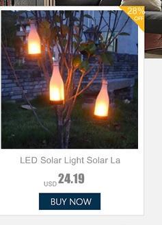 ar livre luzes decoração jardim cerca à prova dlight água jardim luz