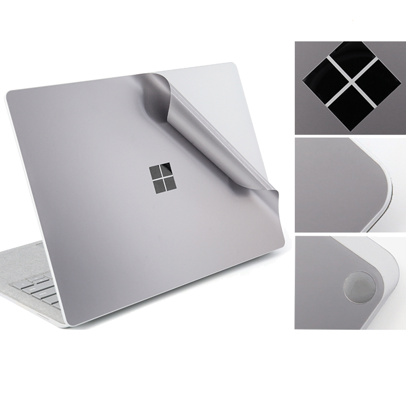 for Microsoft Surface Laptop Full Body Sticker Decals Protective Precisely Fit Skin Cover Space Gray Body Full Protector sticker