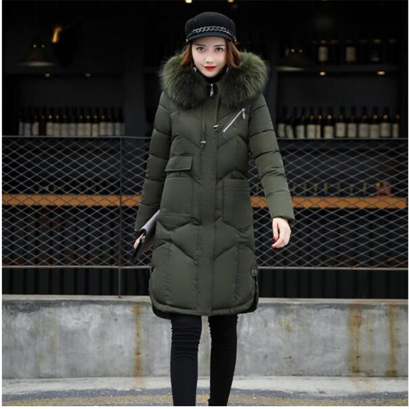 4 Porter Mode 2 2018 Épais Survêtement 1 Femmes Slim De 5 Hiver Neige Grand Et Long Parka Dames Vestes Col Manteau Manteaux Fourrure 3 55wBrqp