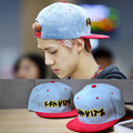 Exo hat kravitz the trend of fashion spring and summer baseball benn flat brim cap